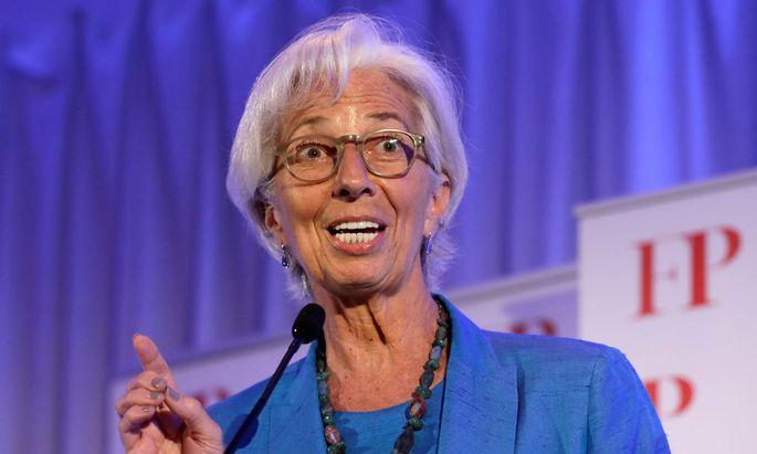IWF-Chef Christine Lagarde