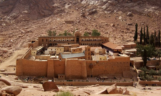 Das Katharinenkloster am Sinai beherbergt einen Schatz an antiken Handschriften.