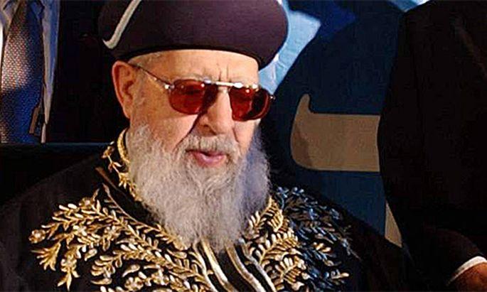 Israel ShasParteiChef wuenscht Palaestinensern