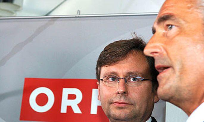 Alexander Wrabetz und Klaus Pekarek