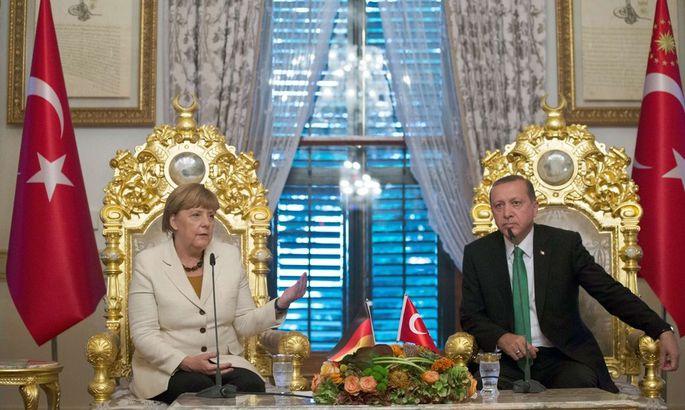 Merkel und Erdoğan