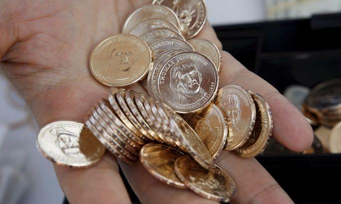 Münzen werden in den USA knapp