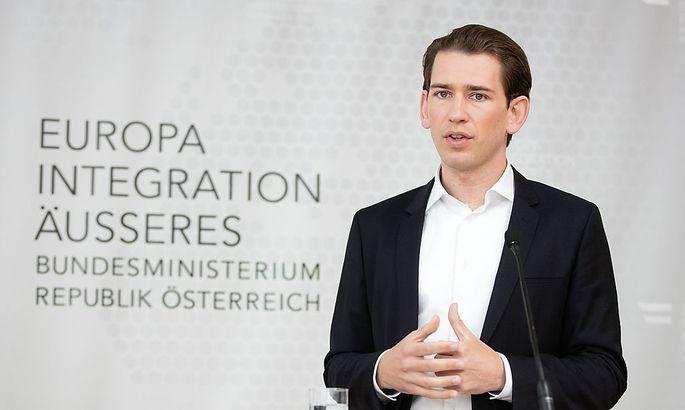 Integrationsminister Sebastian Kurz legt Teile seiner Pläne der SPÖ vor.