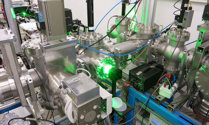 Durch den Laser-Vorbau eines Teilchenbeschleunigers soll Technetium bald auch an der Uni Wien nachgewiesen werden.