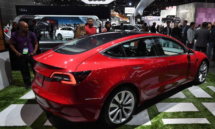 Model 3 soll Tesla den Weg von der Nische in den Massenmarkt ebnen