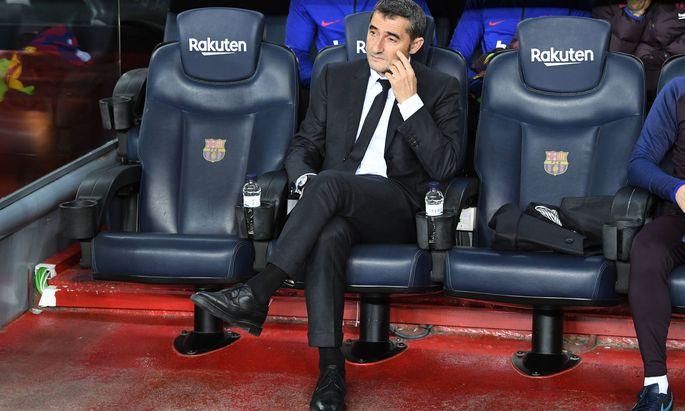 Ernesto Valverde ist nicht mehr Barcelona-Trainer.