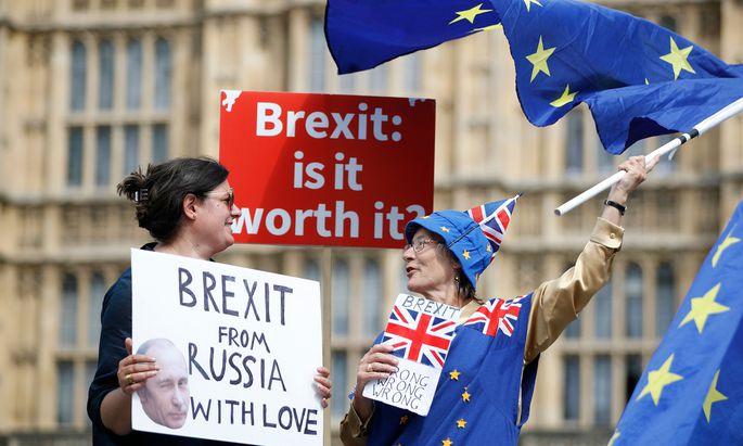 Nach dem Brexit: Premier Theresa May will eine Freihandelszone mit der EU für Waren und landwirtschaftliche Güter.