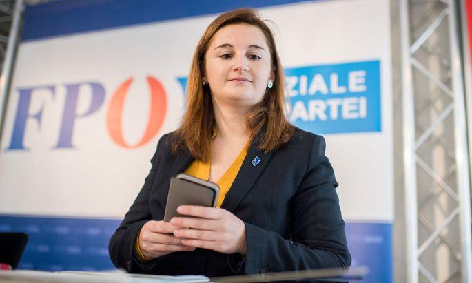Marlene Svazek (FPÖ) hätte sich eine geordnete Übergabe gewünscht.