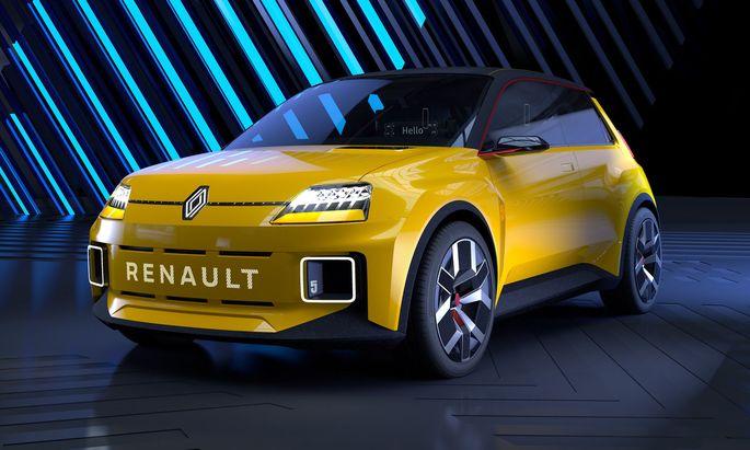 Guter Anfang: Design-Studie eines kommenden, rein elektrischen Renault R5.