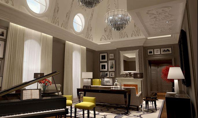 Seit 2011 wird im Corinthia wieder luxuriös gewohnt, in 294 Zimmern, 40 Suiten, sieben Penthouses.