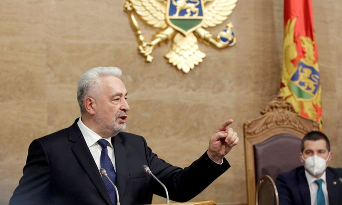 FILE PHOTO: Montenegro's new government