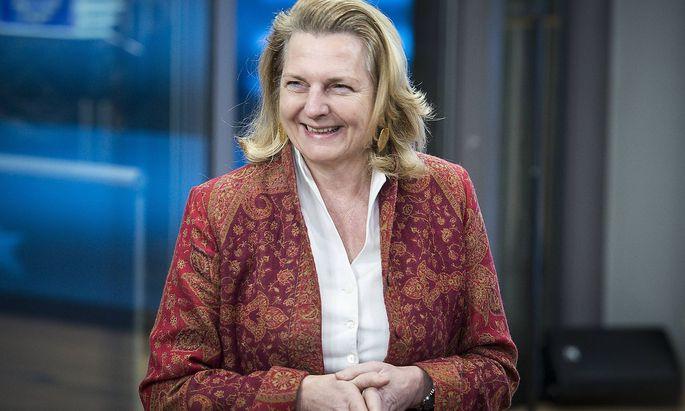 EU Au�enministerrat tagt in Br�ssel January 22 2018 Brussels Bxl Belgium Austrian minister of