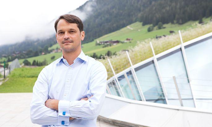 Forum-Alpbach-Geschäftsführer Philippe Narval sieht eine Zukunft für Kongresse via online.