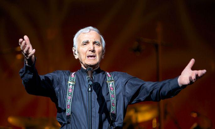 Zäh. Charles Aznavour machte Weltkarriere gegen alle Wahrscheinlichkeit.