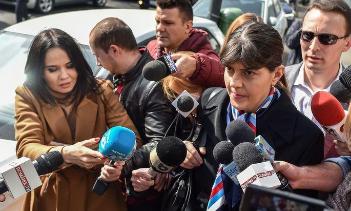 Rumäniens Sozialdemokraten wollen Laura Kövesi (45) auf keinen Fall auf dem Posten der EU-Generalstaatsanwältin sehen.