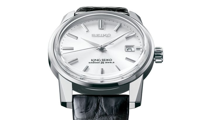 "Attraktive Neuauflage. Die Seiko ""140th Anniversary Limited Edition Re-creation of King Seiko KSK""."