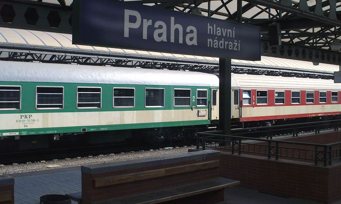 Symbolbild Prag-Bahnhof