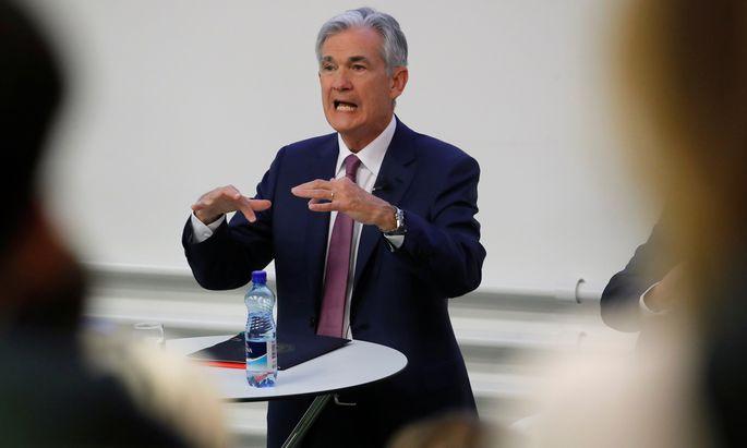 Übermächtig oder überschätzt? Jerome Powell, Chef der US-Notenbank Fed.