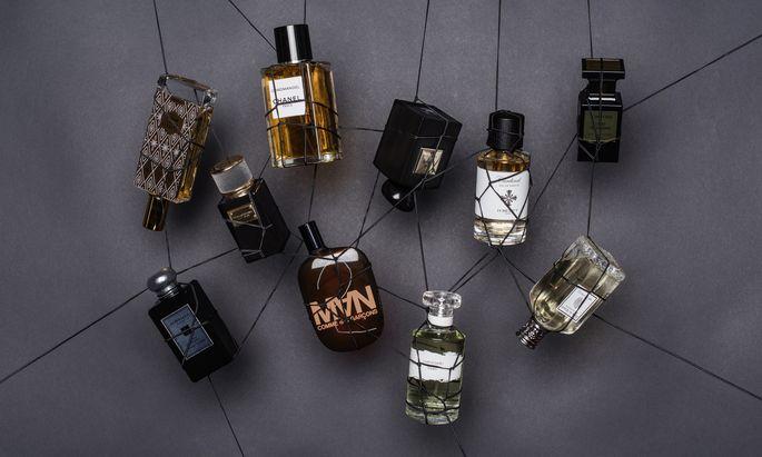 Alle Informationen zu den Parfums im Bild finden Sie unten in der Box.