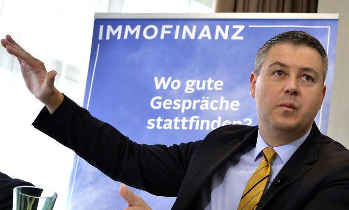 Immofinanz-Chef Oliver Schumy findet das Starwood-Angebot als zu niedrig