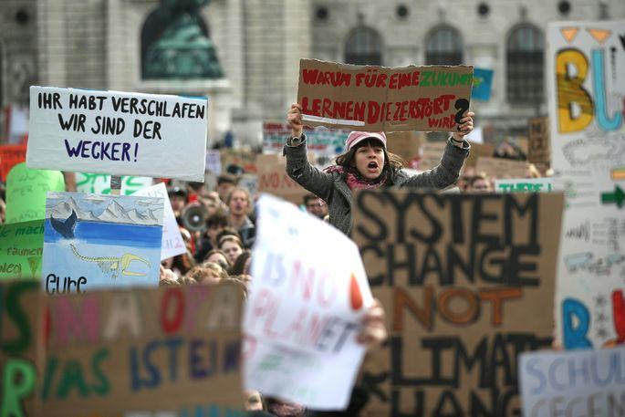 Klimademo Österreich