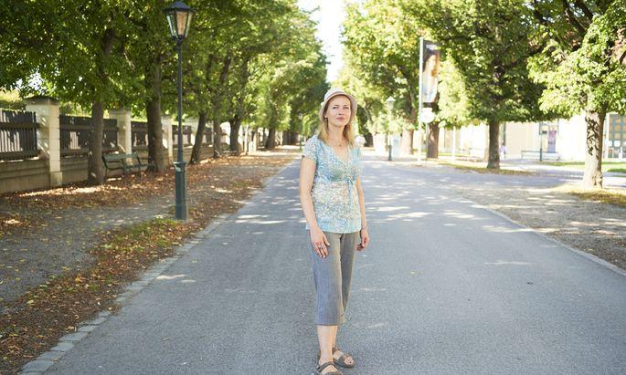 """Pavla Spasevski engagiert sich freiwillig bei der Caritas. Hier habe sie das """"offene Herz"""" der Österreicher kennengelernt."""
