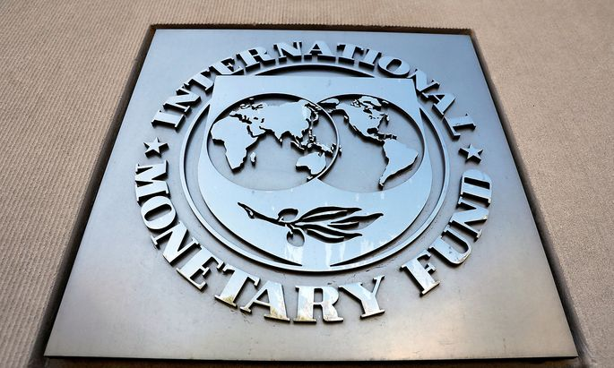 FILE PHOTO: International Monetary Fund logo is seen outside the headquarters building in Washington D.C.