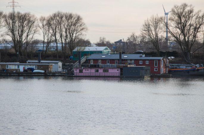 Das Hausboot von Fynn Kliemann und Olli Schulz.