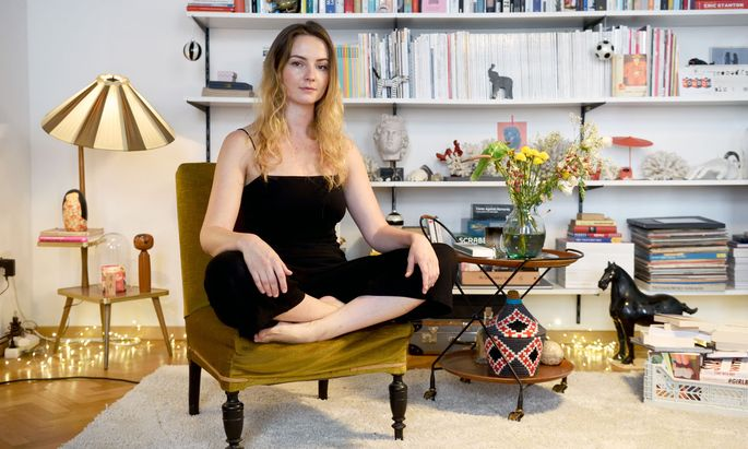 Designerin Laura Karasinski.