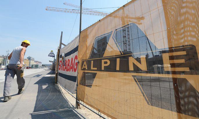 AlpinePleite Acht zehn Mitarbeitern