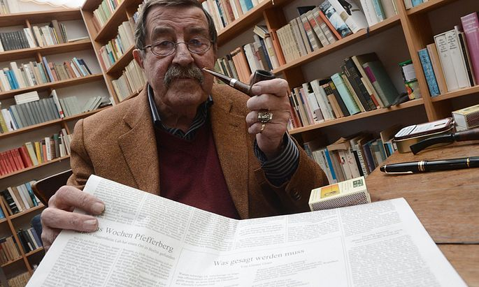 FILE GERMANY GUENTER GRASS OBIT