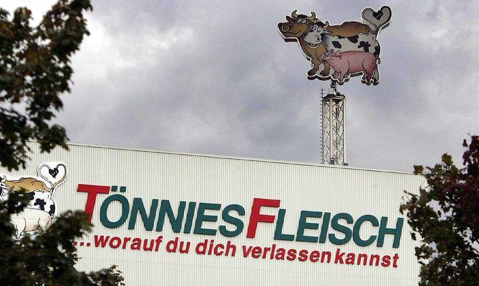 Fleischfabrikant Toennies in Rheda Wiedenbrueck