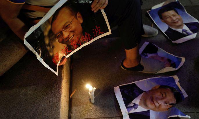 Bilder von Liu Xiaobo