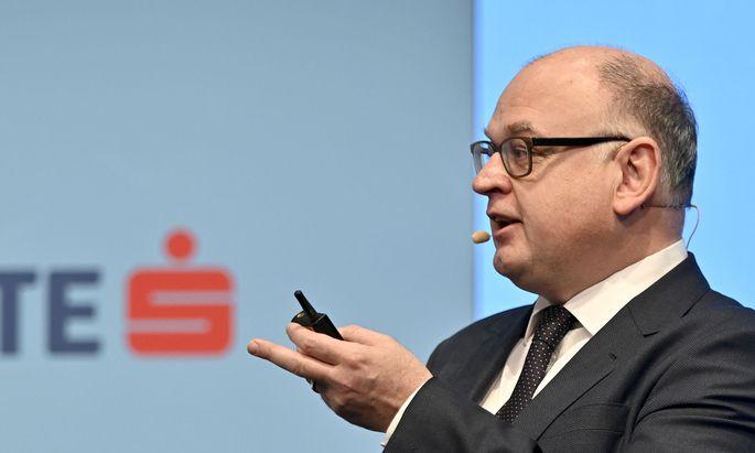 Erste-Group-Chef Bernd Spalt
