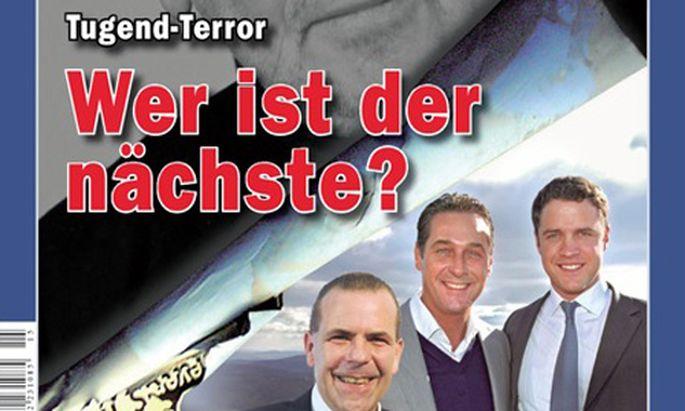 Cover der ''Zur Zeit'' vom 11. bis 17. April 2014