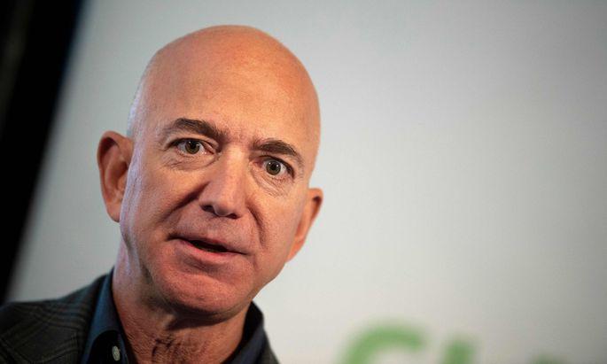 Amazon-Boss Jeff Bezos kämpft um den Mega-Auftrag des Pentagon.