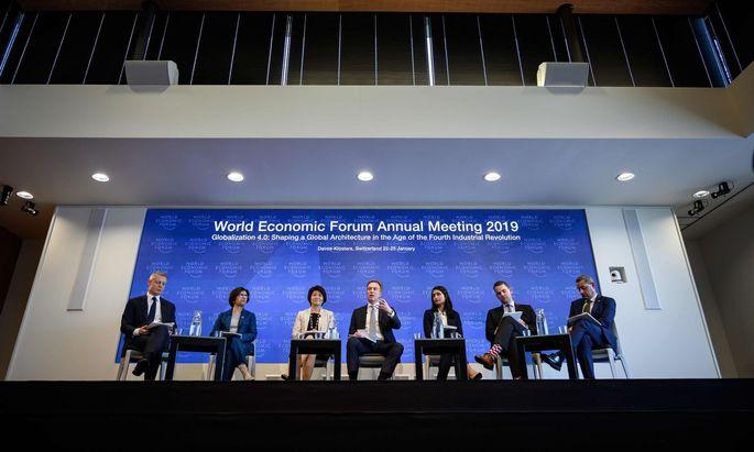Das Eliten-Stelldichein in Davos beginnt mit einem düsteren Ausblick.