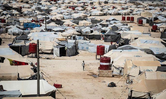 Das Lager al-Hol ist heillos überfüllt