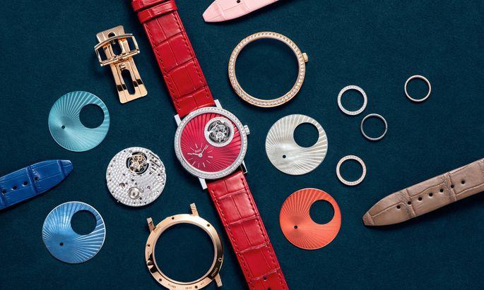 Wer sich eine ganz individuelle Uhr auf den Leib schneidern lassen möchte, ist bei Piaget gut aufgehoben.