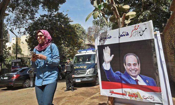 Wahlen in Ägypten: Der alte und wahrscheinlich neue Präsident al-Sisi