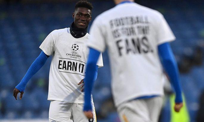 Brightons Spieler werben für die Champions League