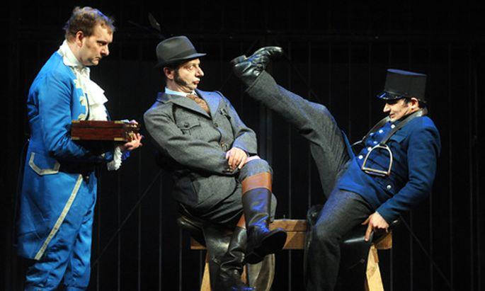 Wiener Volkstheater Nestroys wilde