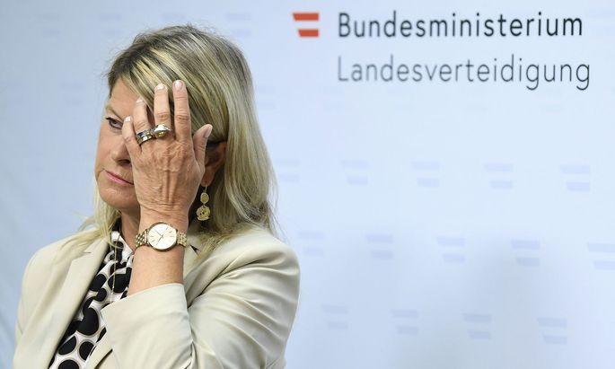 Verteidigungsministerin Klaudia Tanner (ÖVP)