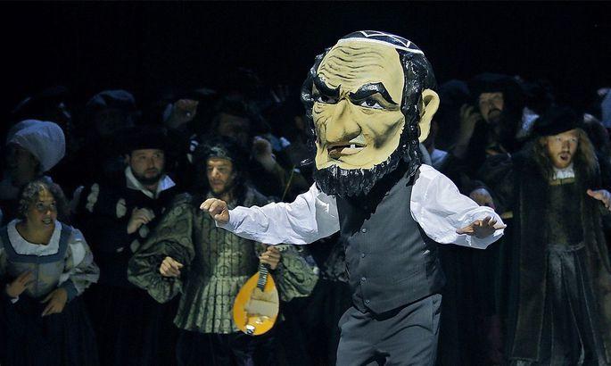 In der verworrenen Bayreuth-Regie von Barrie Kosky: Johannes Martin Kraenzle als Sixtus Beckmesser