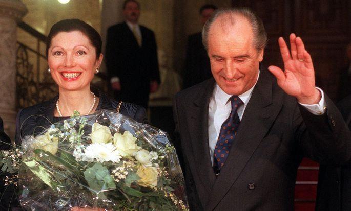 Thomas Klestil heiratete nach der Scheidung und der Wiederwahl 1998 seine Margot.