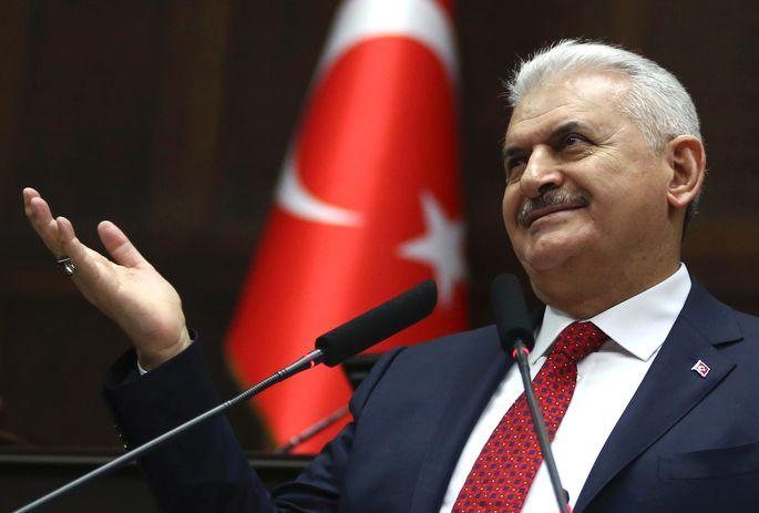 Binali Yildirim vor Werbefeldzug für seinen Chef Erdogan in Deutschland