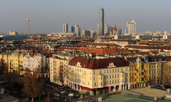 Archivbild: Eine Stadtansicht von Wien