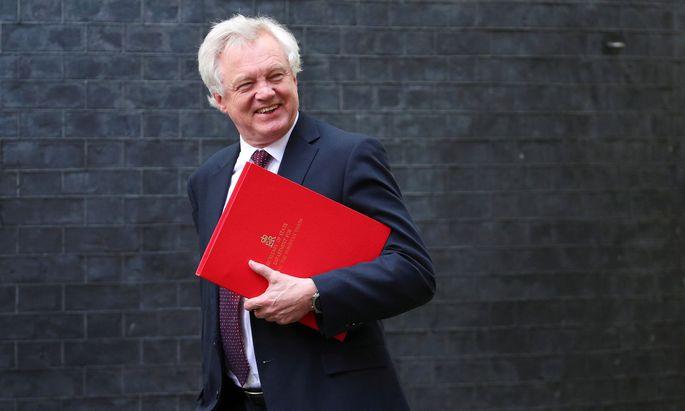 Der britische Brexit-Minister David Davis