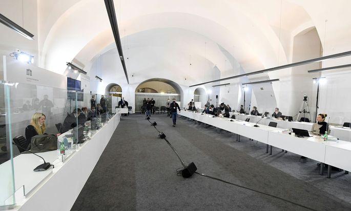Symbolbild: Der Sitzungssaal im Camineum der Nationalbibliothek