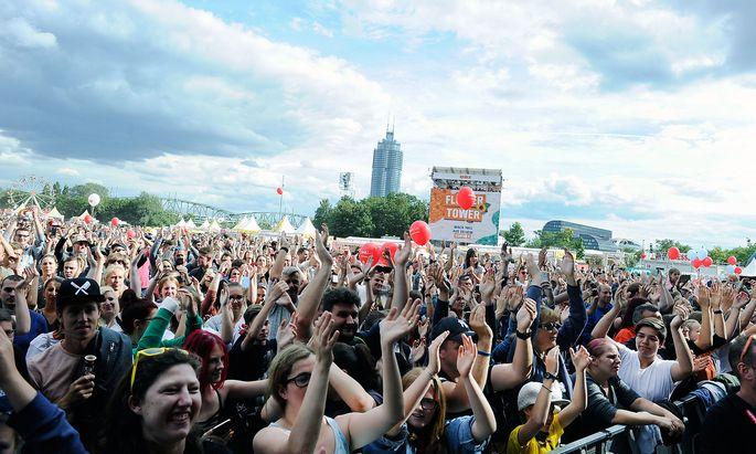 Auch das Donauinselfest wird von SPÖ-nahen Vereinen organisiert.